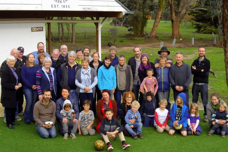 Barkers Creek Landcare 20th Anniversary group photo