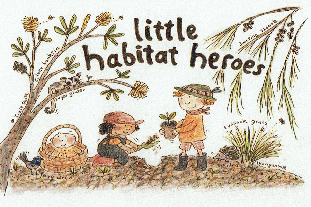Little Habitat Heroes illustration